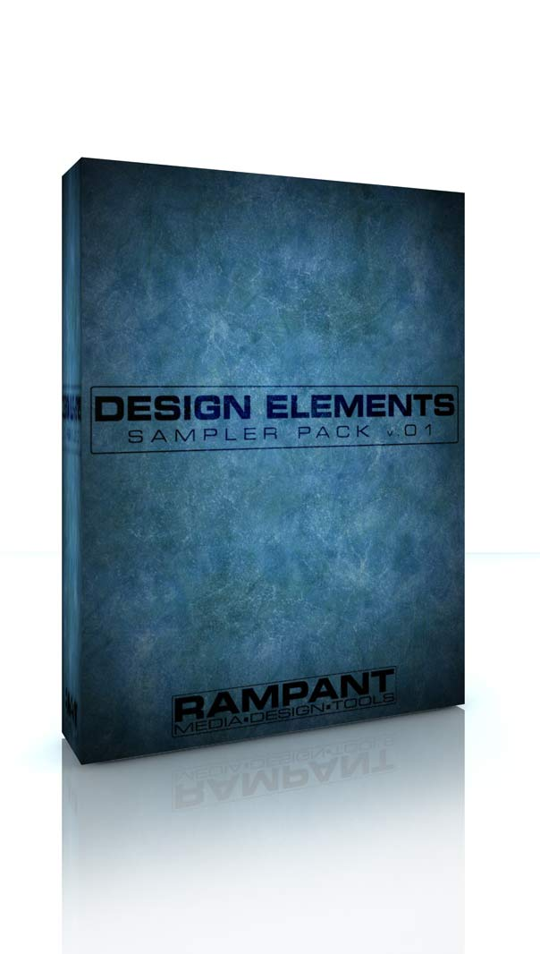 Rampant Design Elements Sampler Pack v1 | Rampant Media